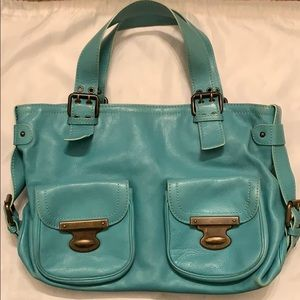 Authentic Pre-Owned Marc Jacobs Sea Foam Green Bag